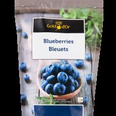Forzen Blueberries - 600 g - Coop Gold - No Background